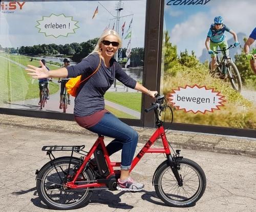 Top Beratung im Elektrofahrradgeschäft Fahrradladen wertige iSY Bosch Pedelecs