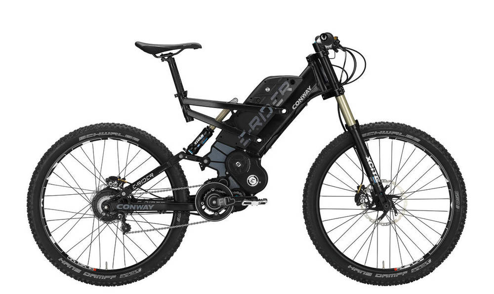 Conway eRider Extreme e-MTB NuVinci